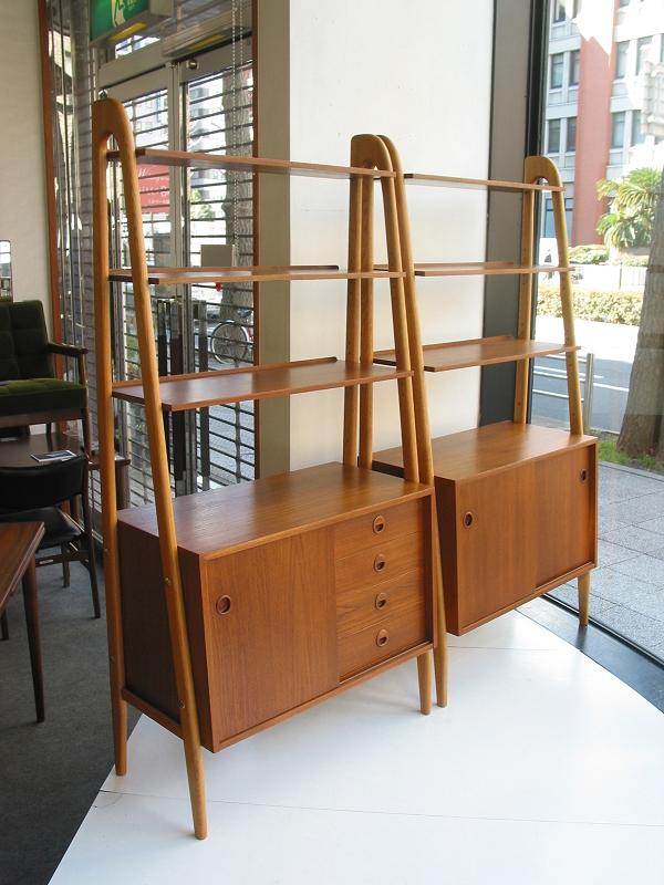 オープンシェルフ セット ビンテージ ヴィンテージ 北欧家具