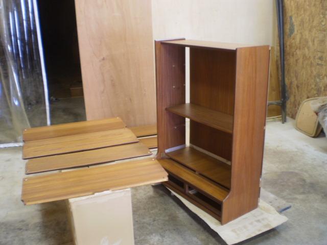 シェルフ 分解 ビンテージ ヴィンテージ 北欧家具