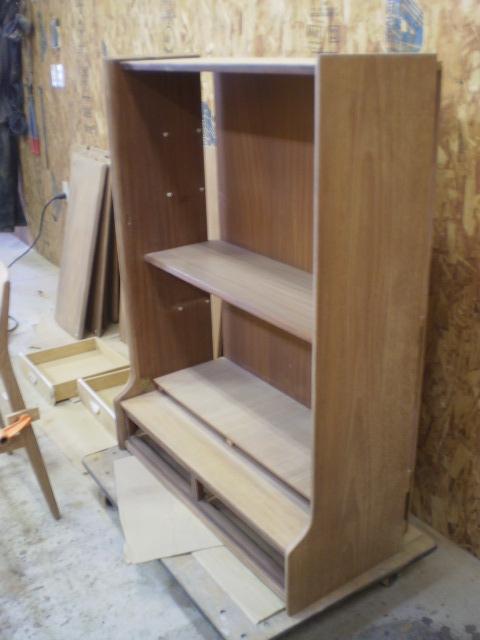 シェルフ 内部研磨 ビンテージ ヴィンテージ 北欧家具