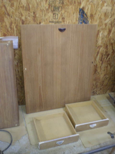 引き出し 天板 シェルフ 分解研磨 ビンテージ ヴィンテージ 北欧家具