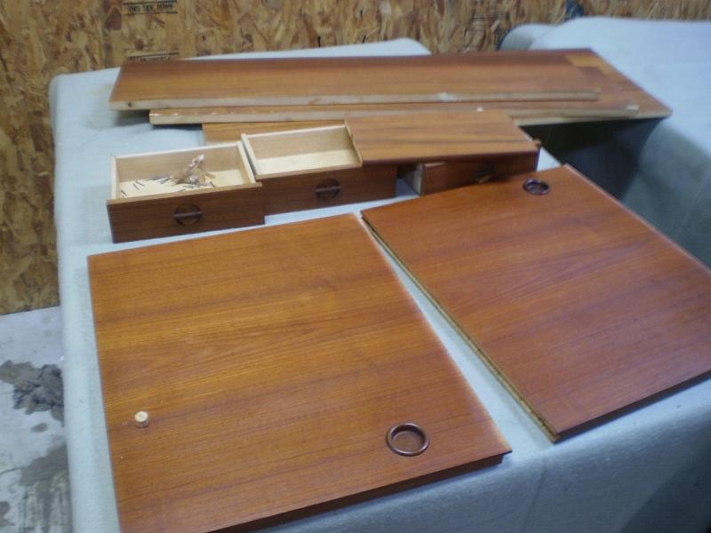 ブックシェルフ 分解 ビンテージ ヴィンテージ 北欧家具
