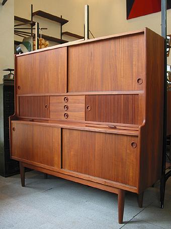 サイドボード 全面研磨 内部分解 ビンテージ ヴィンテージ 北欧家具