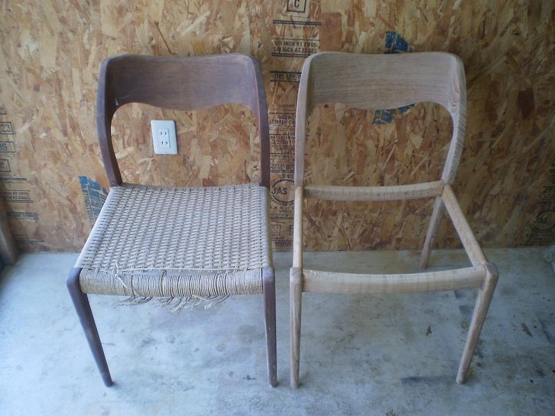 ダイニングチェア J.L.Moller Model No.71 Chair モラー ミュラー ウレタン交換 ビンテージ ヴィンテージ 北欧家具