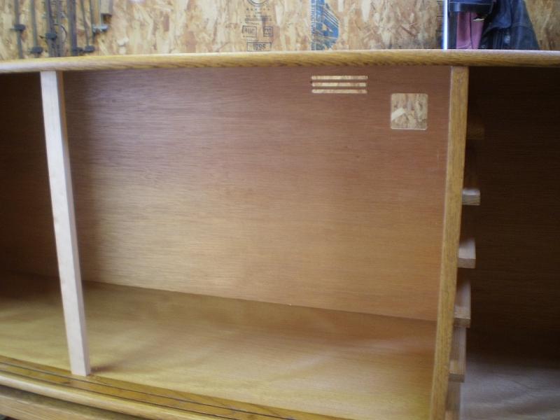 サイドボード 配線穴 換気穴 ビンテージ ヴィンテージ 北欧家具