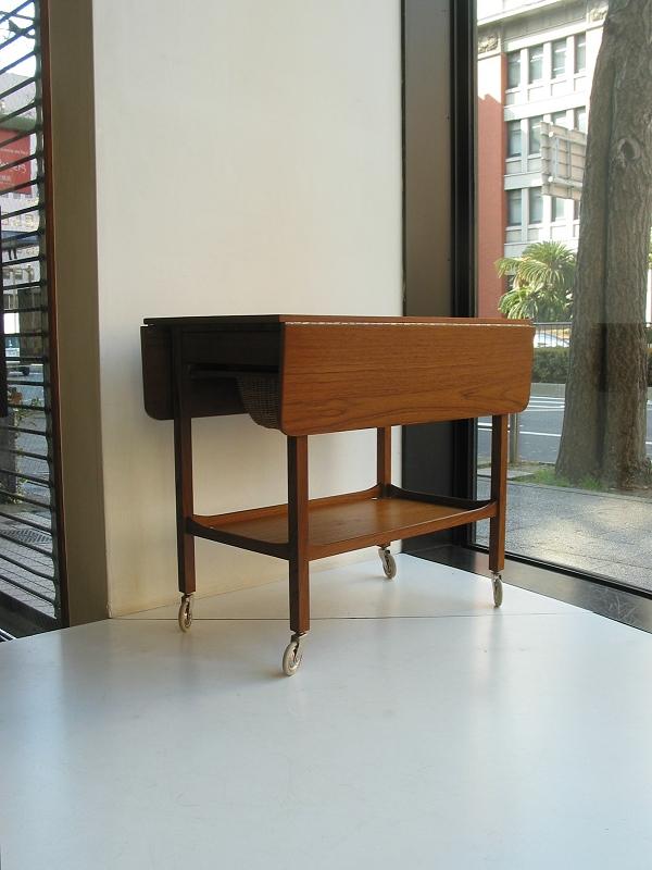 キャスターテーブル ビンテージ ヴィンテージ 北欧家具