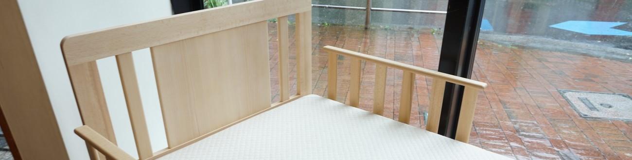 オリジナルベッド ビーチ(ブナ材)手すり マットレス特注(固め) / DECO-BOCO Original Bed(オーダー)を更新致しました。