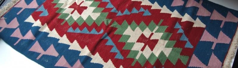 デットストックのアフガンラグやトルクメン絨毯・キリム
