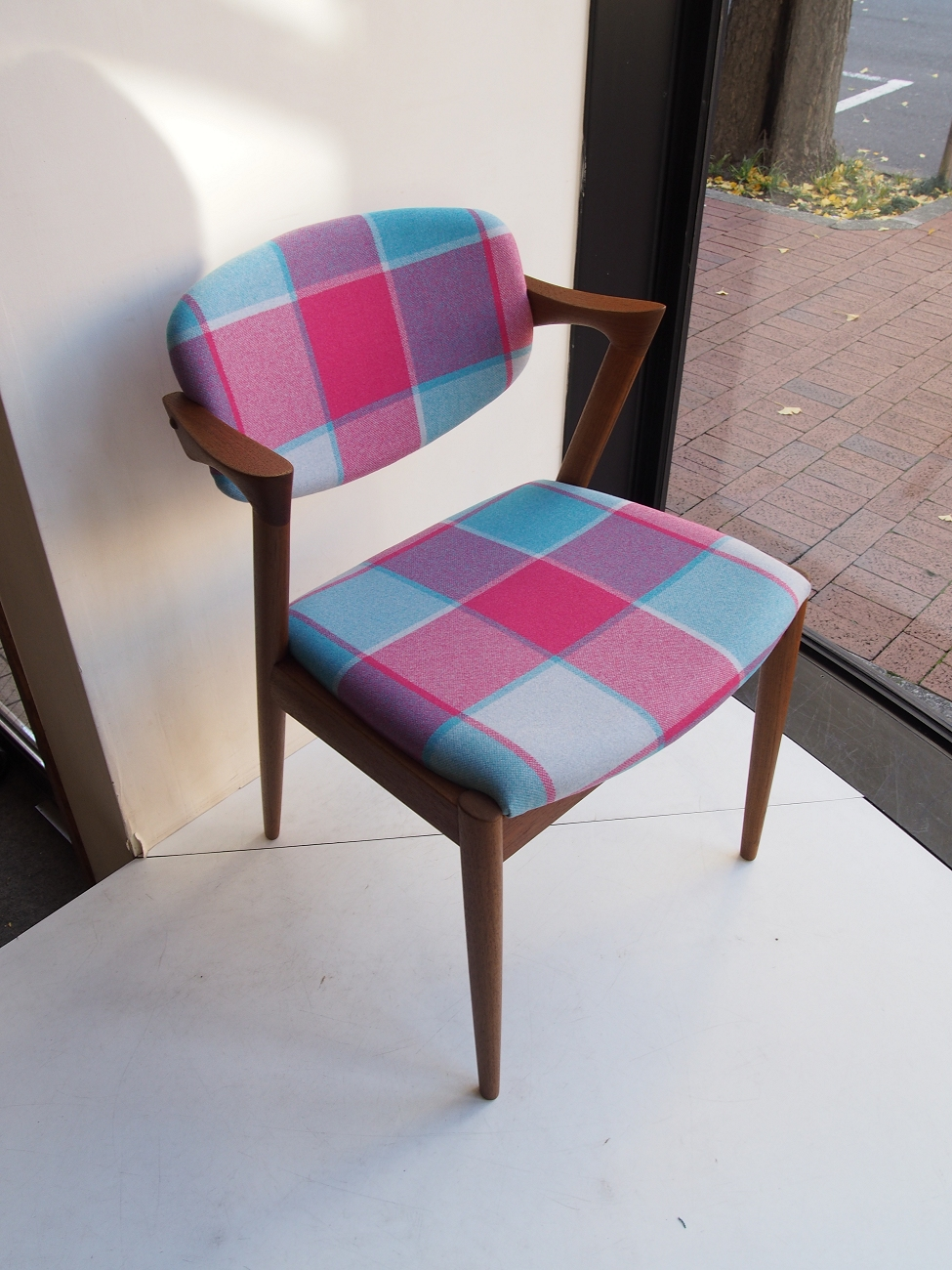 カイクリスチャンセン No.42チェア チーク / Kai kristiansen ビンテージ北欧家具