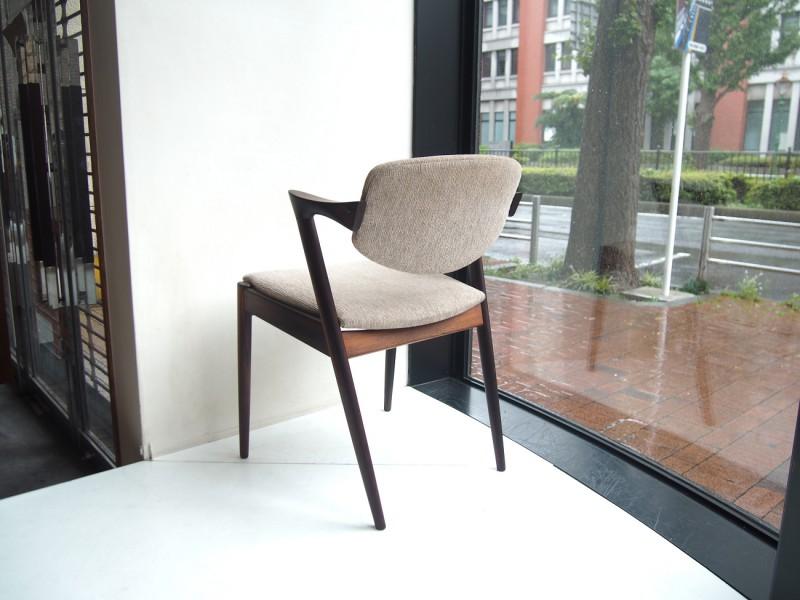 カイクリスチャンセン No.42 チェア ローズウッド ビンテージ北欧家具 Chair rosewood Kai kristiansen