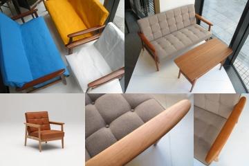 本革やチェリー材を使用した限定のKチェアや当店オリジナルのKチェア用カバーのご紹介