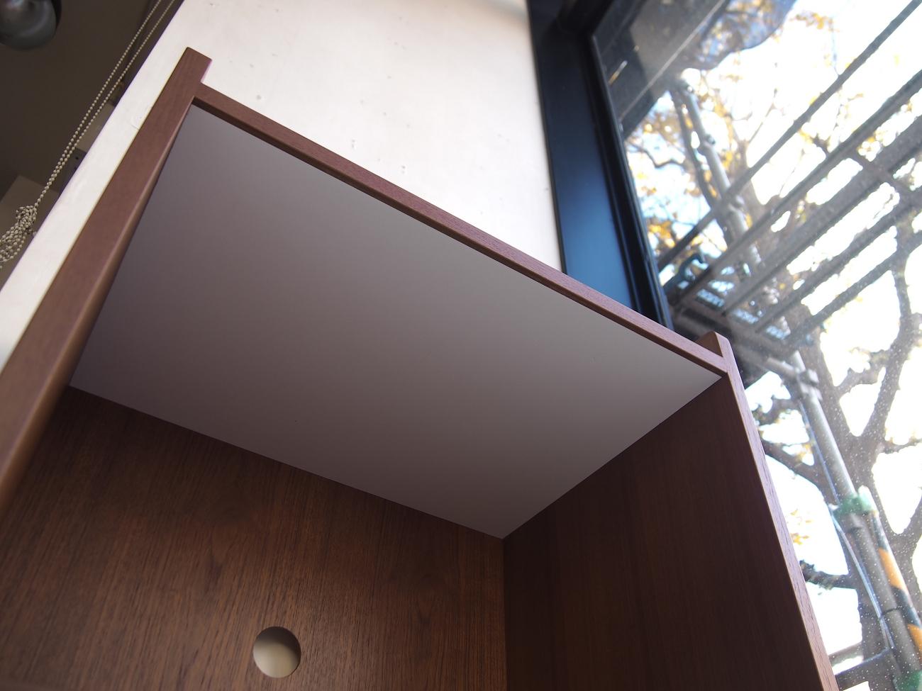 炊飯器の蒸気が直接当たっても大丈夫なように、内側をメラミン素材にて作製