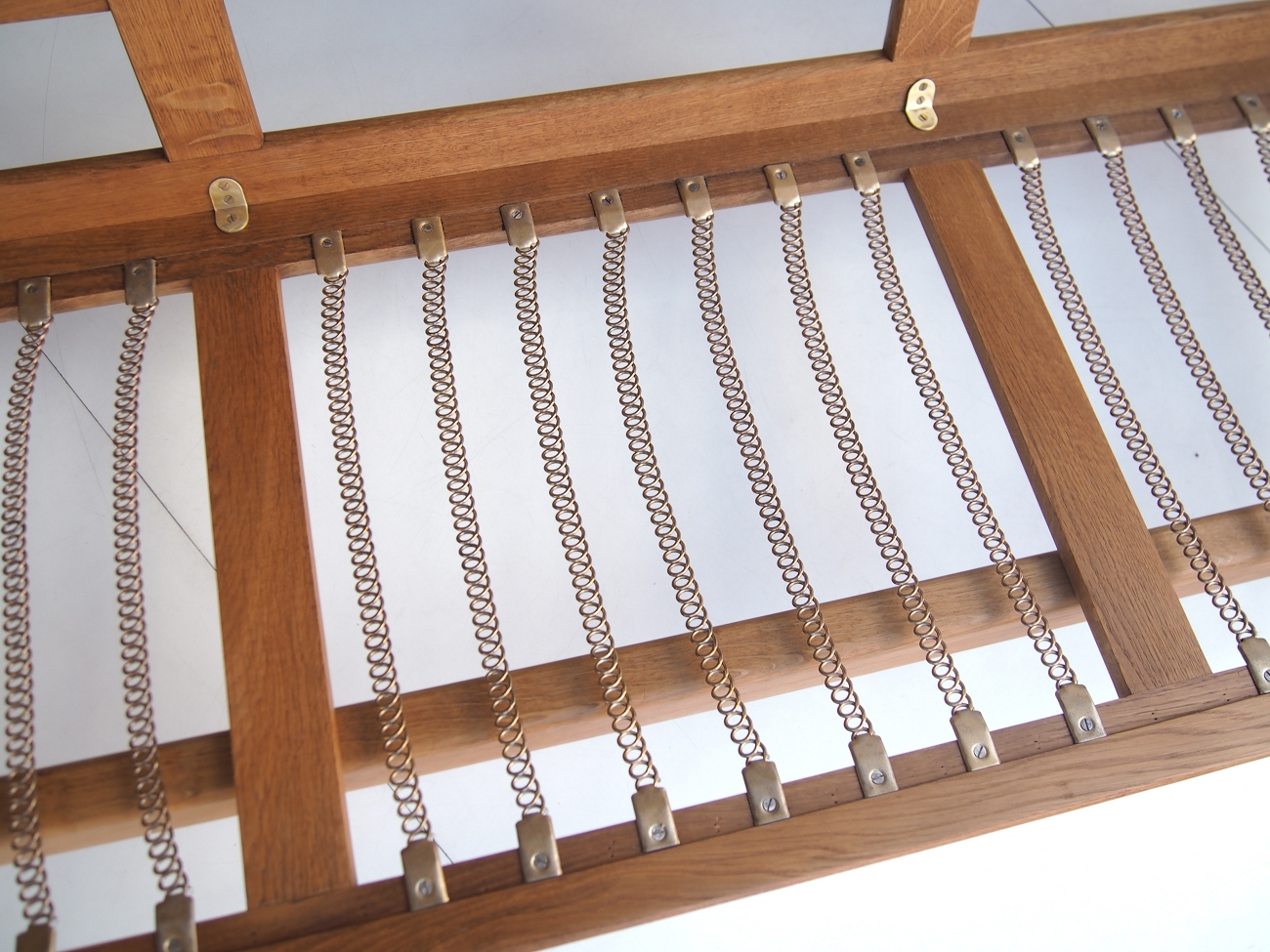 ハンス・ウェグナー GE2903ソファ オーク(Oak) クヴァドラ・ハリンダル65 / GETAMA Hans J.Wegner ゲタマ ビンテージ北欧家具