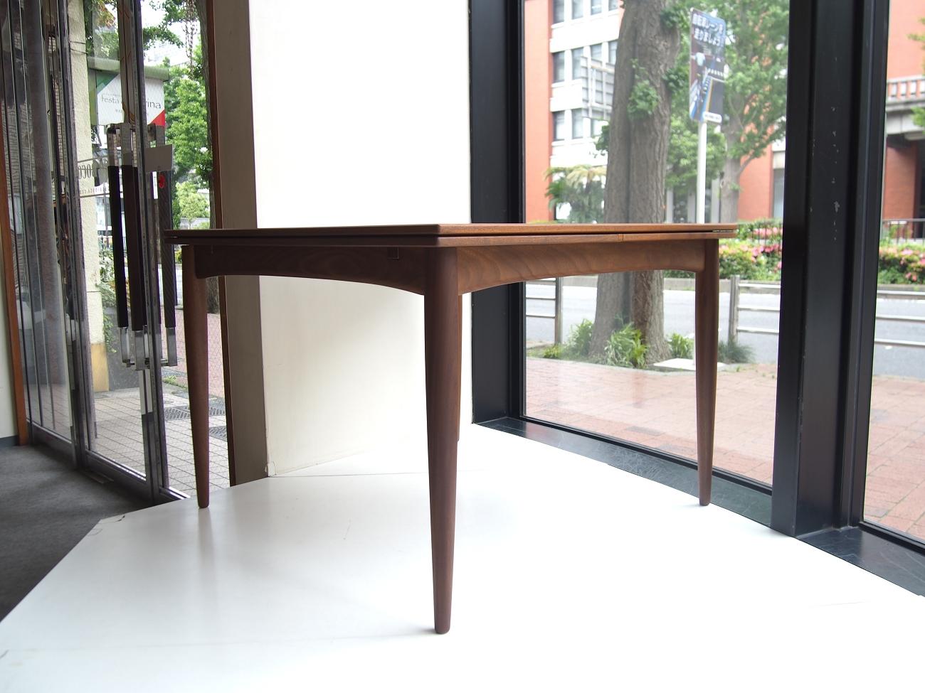 ビンテージ北欧家具 エクステンションダイニングテーブル(正方形)