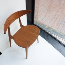 経年変化したチークが美しいハンスウェグナーCH-33のチーク材 カールハンセン&サンのビンテージ北欧家具