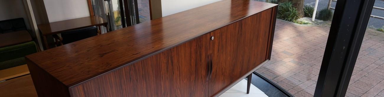ローズウッドの蛇腹のサイドボード Arne Vodder Sideboard model75 Rosewood (Sibast Furniture) / アルネ・ヴォッター シバストファニチャー