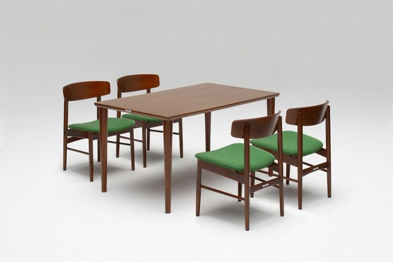 カリモク60+ ダイニングテーブル(W1500)ウォールナット色4