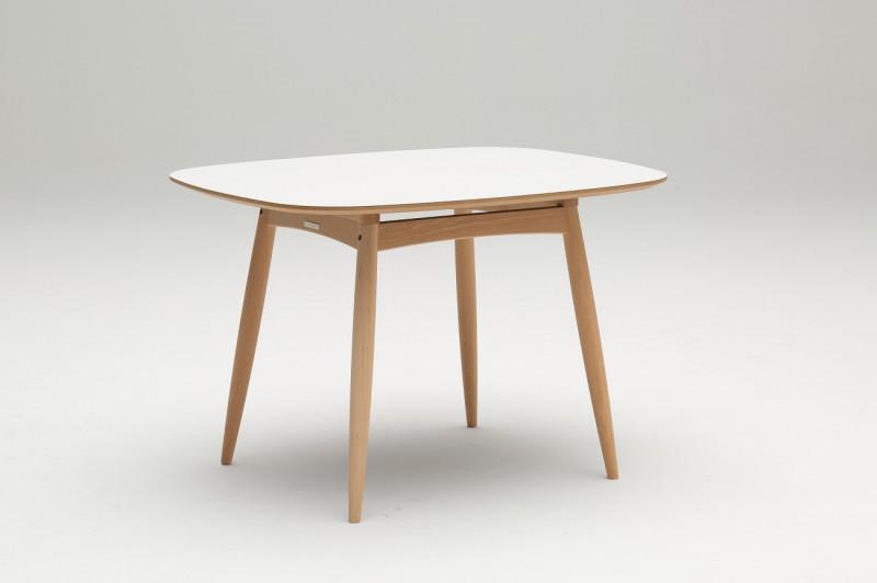 カリモク60+ Dテーブル ホワイト(ピュアビーチ色) D36350AE