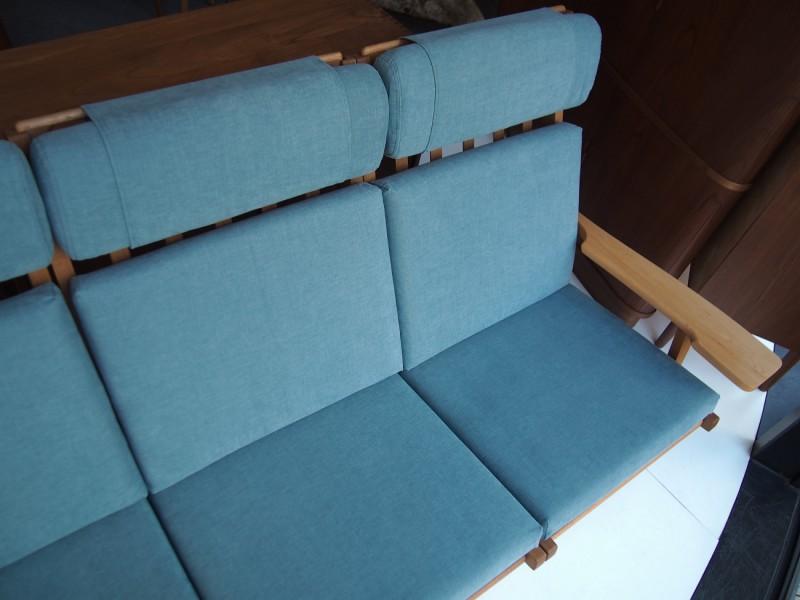ウェグナー ゲタマ GE375-3 ソファ オーク ヴィンテージ北欧家具