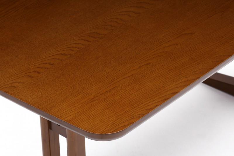 カリモク60+ カフェテーブルW1200 天板オーク突板 (横幅1180mmです)2
