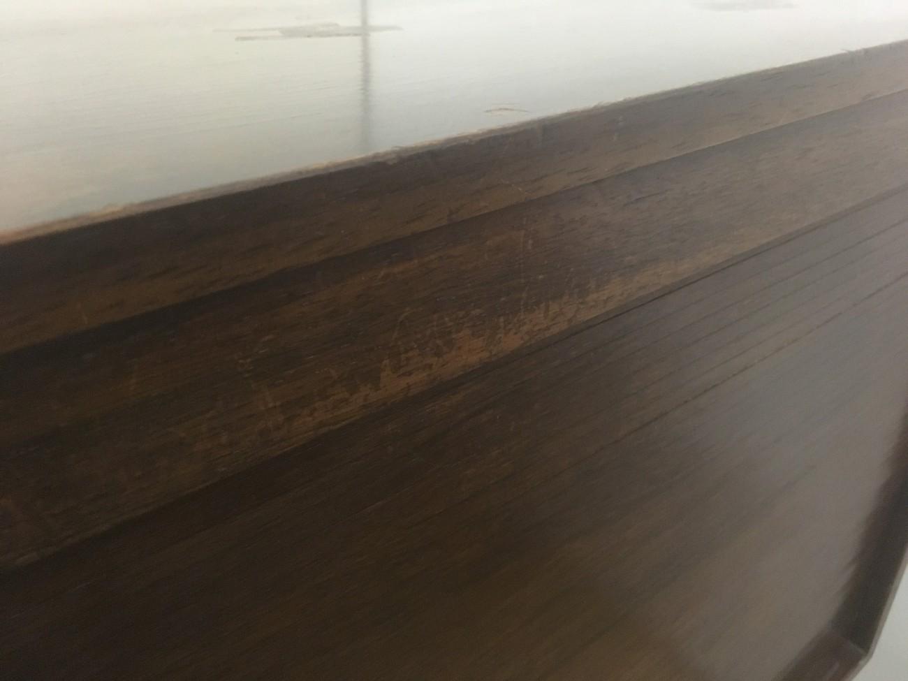 ローズウッドサイドボードの修理
