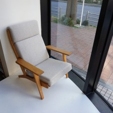 Hans J.Wegner GE290A sofa oak GETAMA kvadrat / ハンス・ウェグナー ソファ オーク ゲタマ クヴァドラ ビンテージ北欧家具