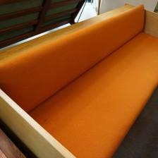 Hans J.Wegner GE-259 Daybed sofa Oak GETAMA / ハンス・ウェグナー デイベッド ソファ オーク丸脚 ゲタマ ビンテージ北欧家具