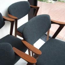 Kai kristiansen No.42 Chair Teak mina perhonen dop tambourine / カイクリスチャンセン チーク材 ミナ ペルホネン ドップ タンバリン