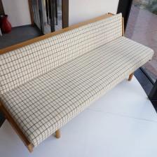Hans J.Wegner GE-258(GE-6) Daybed sofa Oak GETAMA / ハンス・ウェグナー デイベッド ソファ オーク丸脚 ゲタマ ビンテージ北欧家具