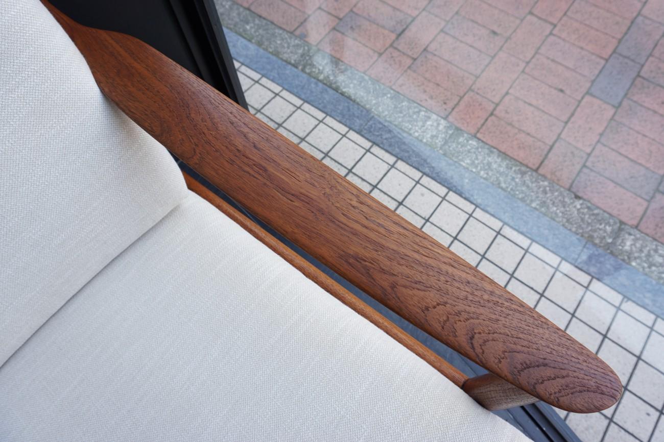 50~60's GOLDFEDER Sofa by CARL STRAUB from Germany / ビンテージ ヨーロッパ・ドイツ家具 シングルソファ