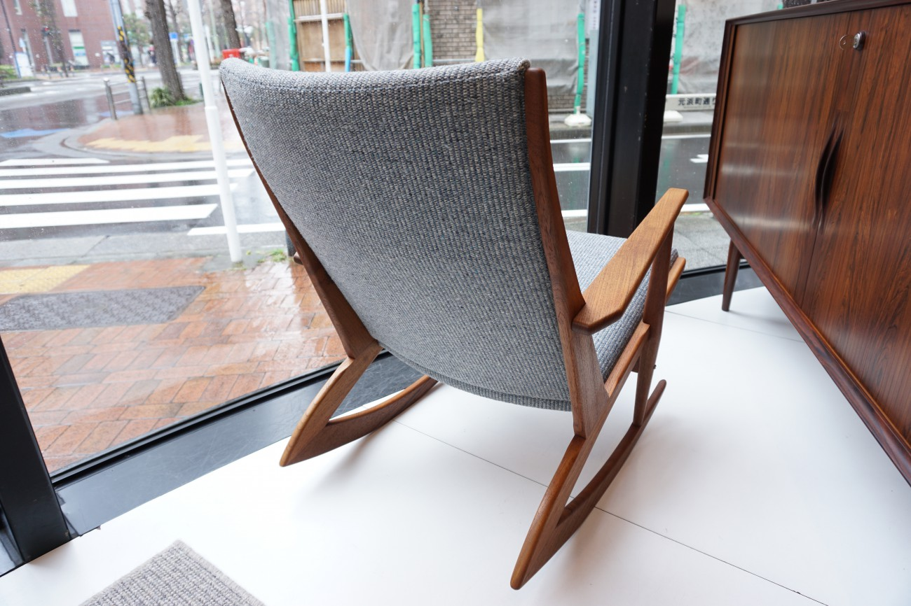 George Jensen Rocking chair Model 97 / ジョージ・ジェンセン チーク ロッキングチェア