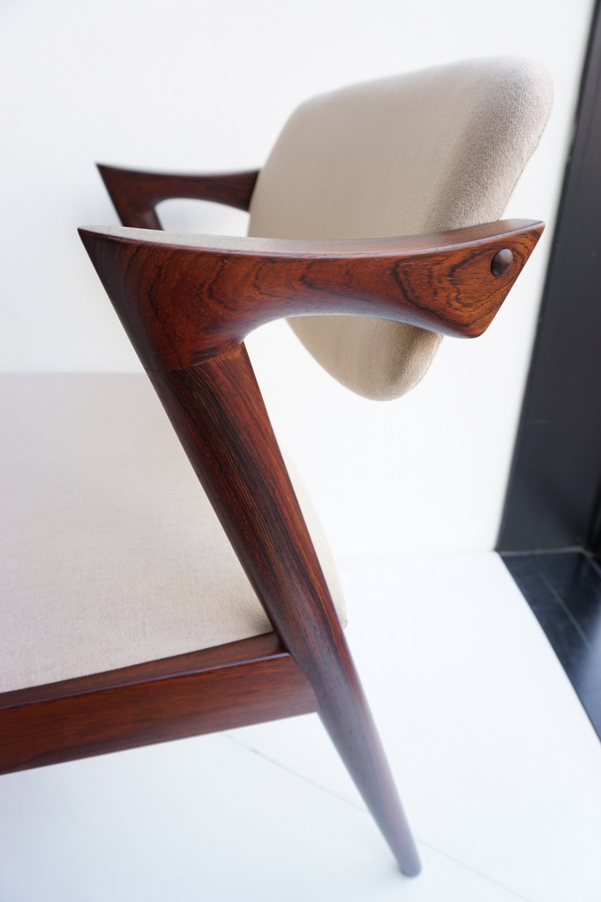 Kai kristiansen No.42 Chair Rosewood 2脚セット / カイクリスチャンセン ローズウッド