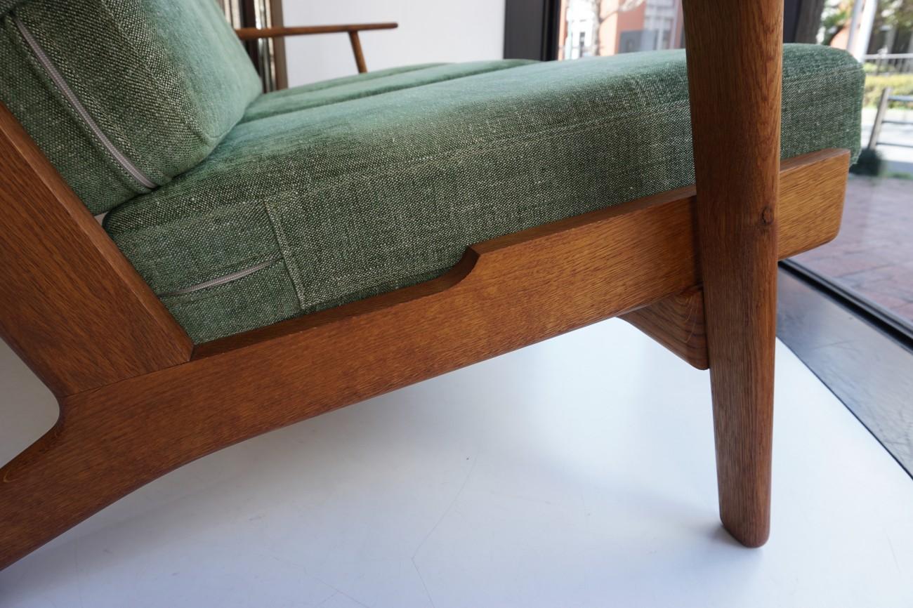 Hans J.Wegner GE290-3 sofa Oak GETAMA / ハンス・ウェグナーデザイン ゲタマ社製 ビンテージ ソファ オーク材