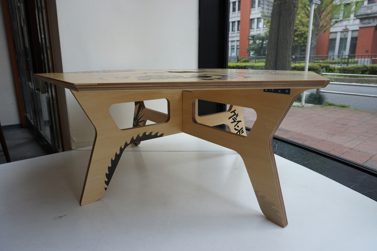 TRUNKZERO(トランクゼロ) GRIND LODGE(グラインドロッジ)h&o ヘキサテーブル 六角テーブル キャンプ アウトドア ギア