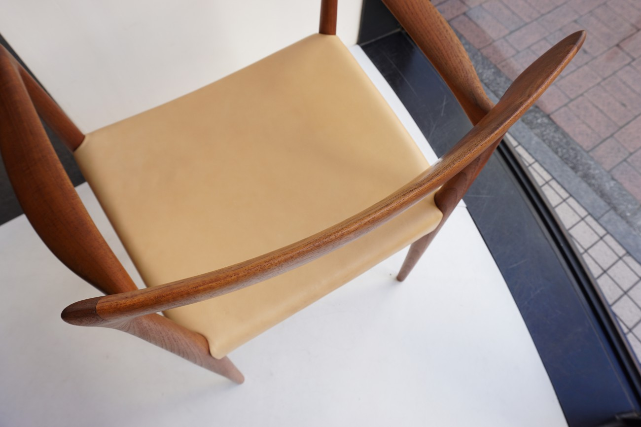 Rastad&Relling Bambi arm chair Normay aniline leather / ラスタ&レリング アームチェア アニリンレザー(本革) ノルウェー