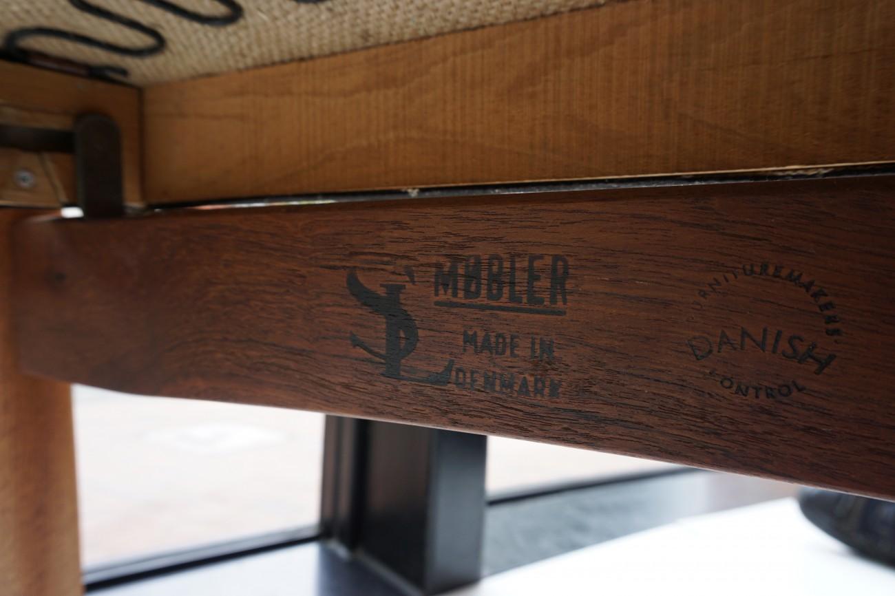 チーク ハイバックラウンジチェア(リクライニング)SL MOBLER