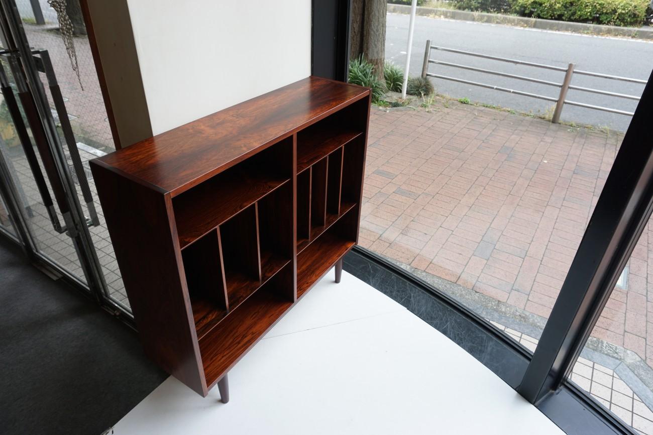 Rosewood book case / ローズウッド ブックケース(本棚) LP アナログ レコード