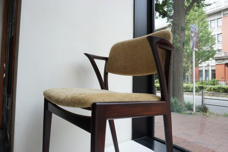 Rosewood dining chair 4pset / ローズウッド ダイニングチェア 4脚セット / Slagelse Mobelvaerk Danish Furniture Makers Quality Control Gaston y Daniela(ガストンダニエラ)