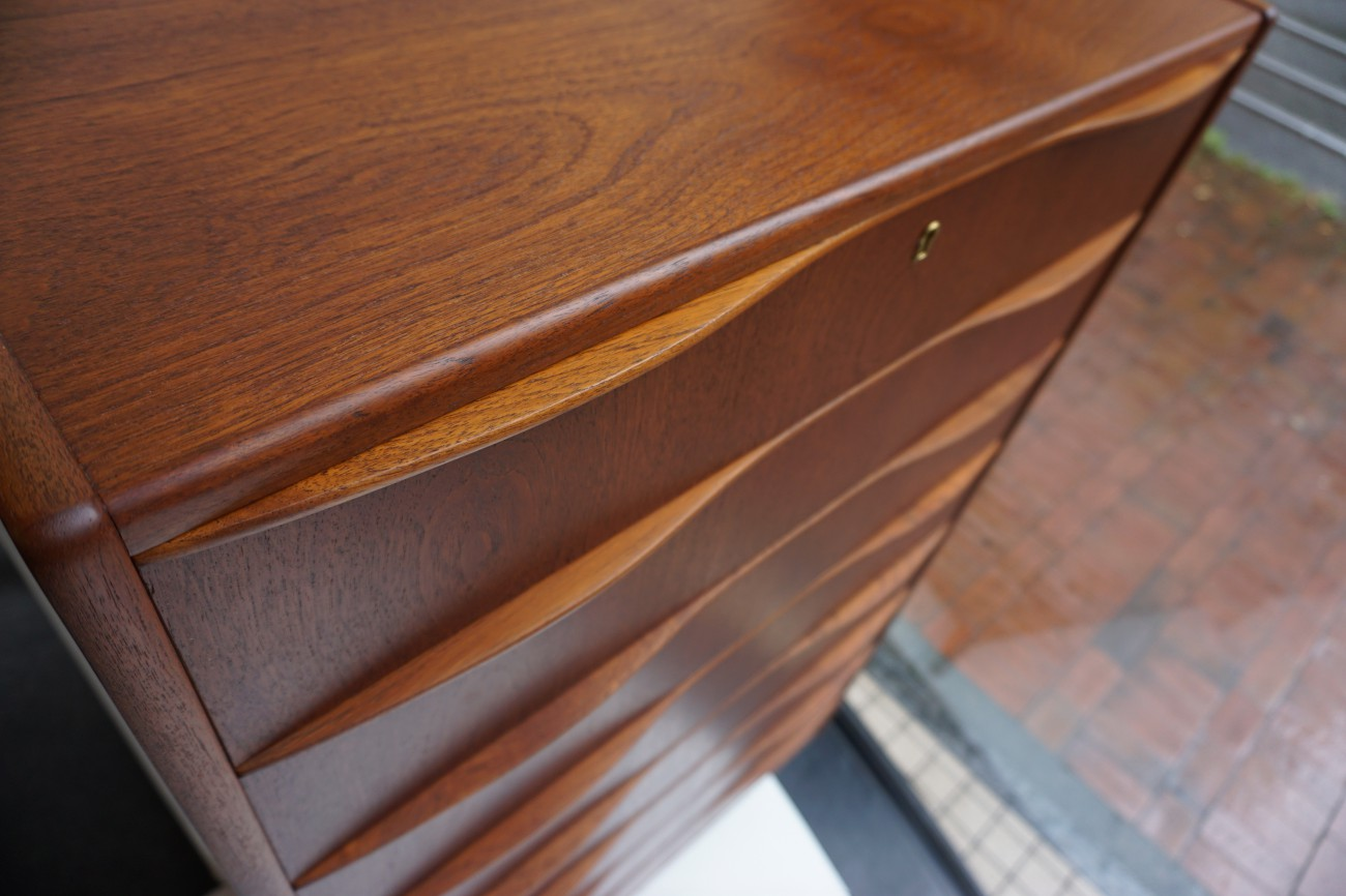 Teak chest / チーク チェスト 色調整 / ビンテージ北欧家具