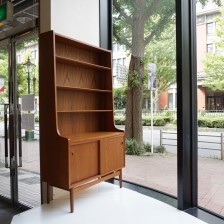 Johannes sorth teak book shelf Bornholms Mobelfabrik / チーク ブックシェルフ