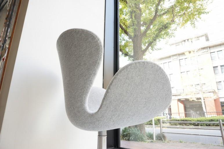 Swan chair Arne Jacobsen FRITZ HANSEN Kvadrat Hallingdal 65 / スワンチェア アルネヤコブセン フリッツハンセン クヴァドラ ハリンダル65 ビンテージ北欧家具