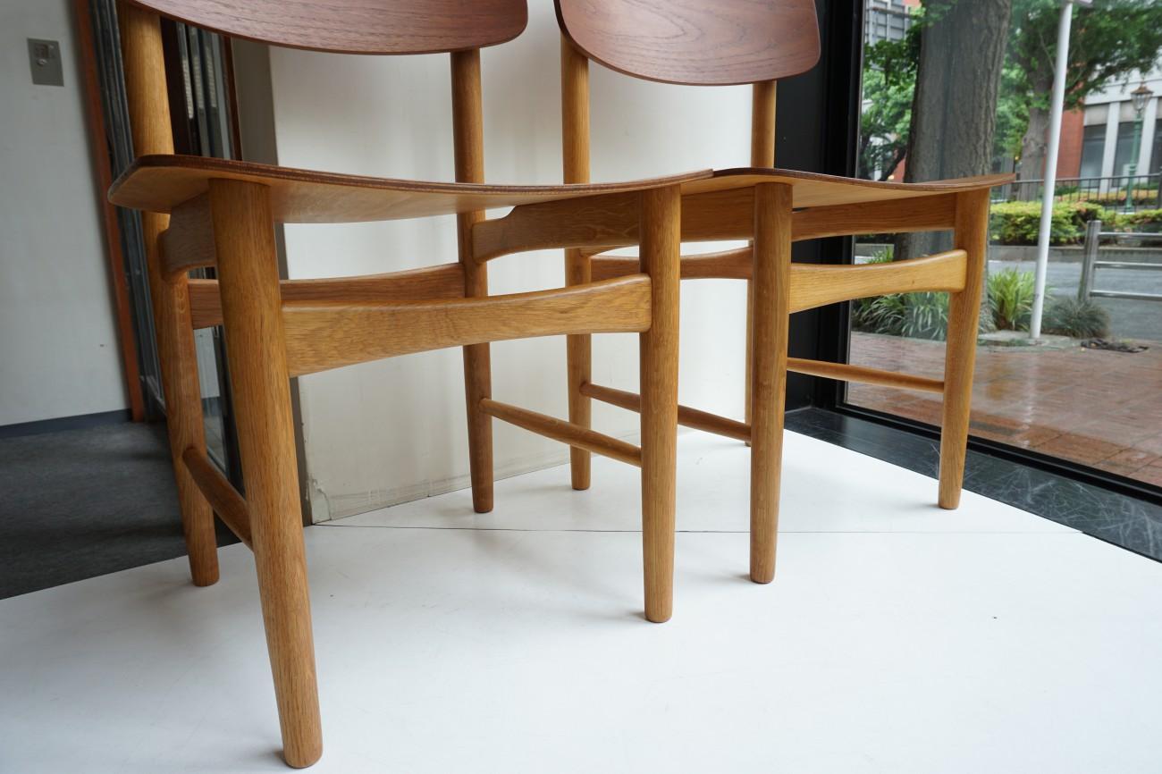 Borge Mogensen model122 Chair(Teak×Oak)Soborg Mobler / ボーエ・モーエンセン モデル122 チェア (チーク×オーク)