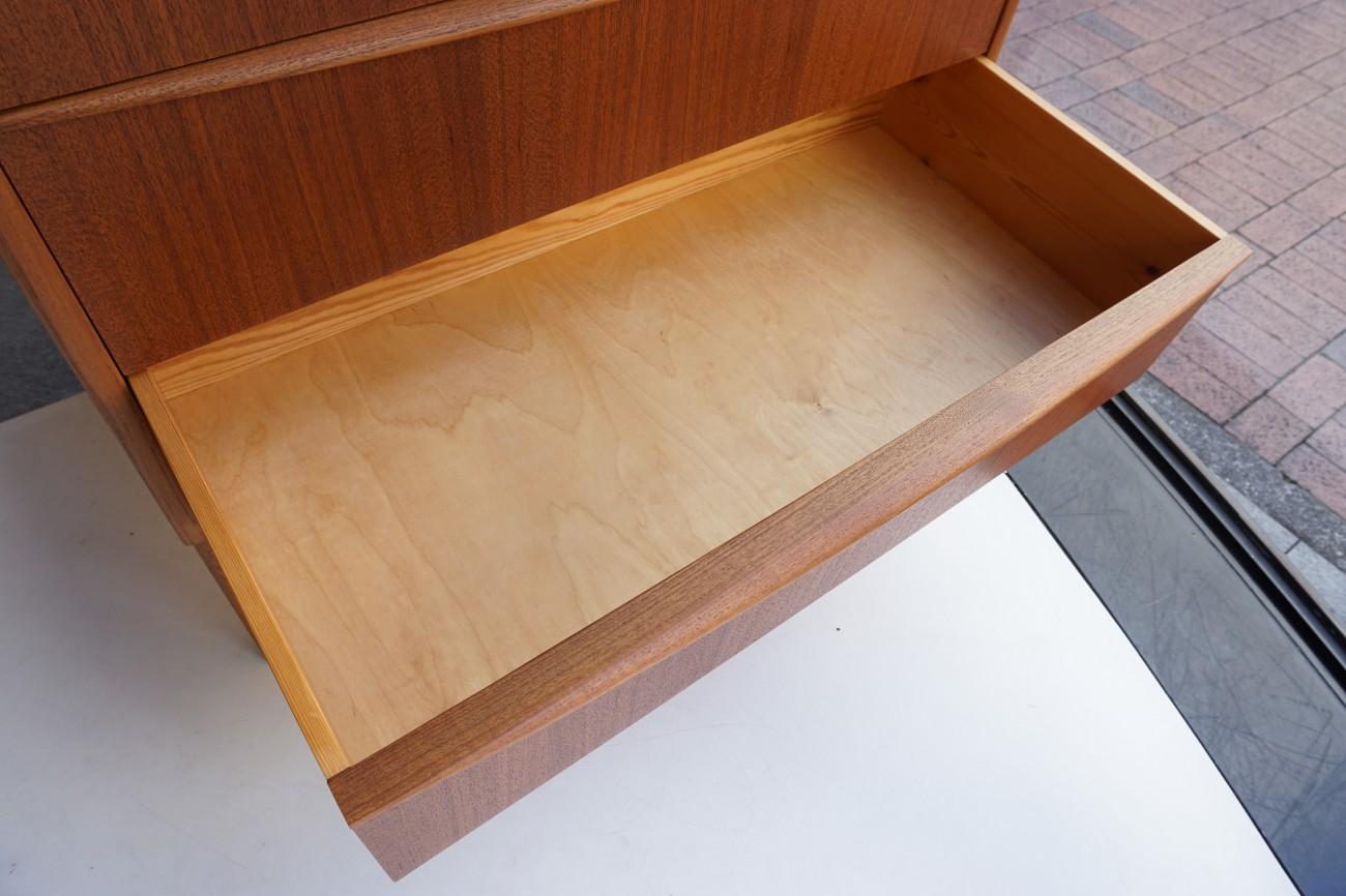 Teak writing bureau / チーク ライティングビューロ ビンテージ北欧家具