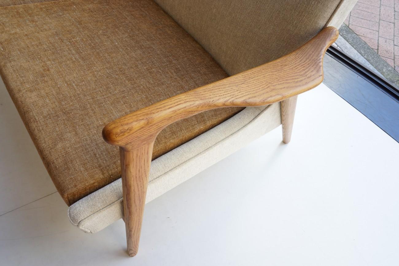 Broderna Andersson Sweden Oak sofa / 2シーターソファ クヴァドラ スウェーデン ビンテージ北欧家具