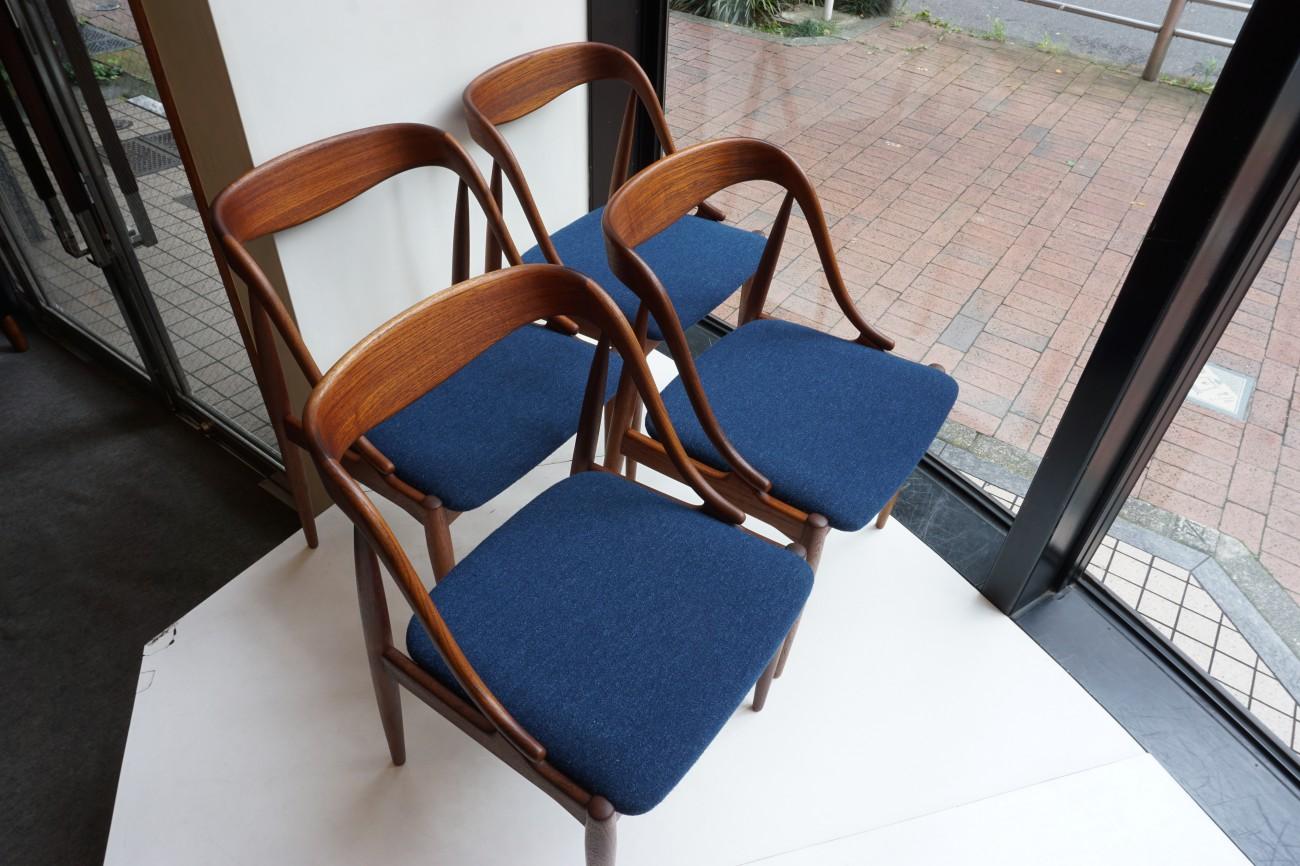 Johannes Andersen Uldum Mobelfabrik Dining Chair / チーク ヨハネスアンダーセン ダイニングチェア 1965