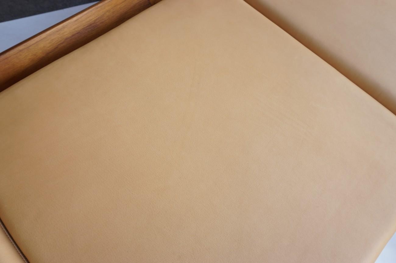 Ole Wanscher sofa Model166 Senator Teak France & Son aniline leather / チーク オーレヴァンシャー セネターソファ アニリンレザー(本革)
