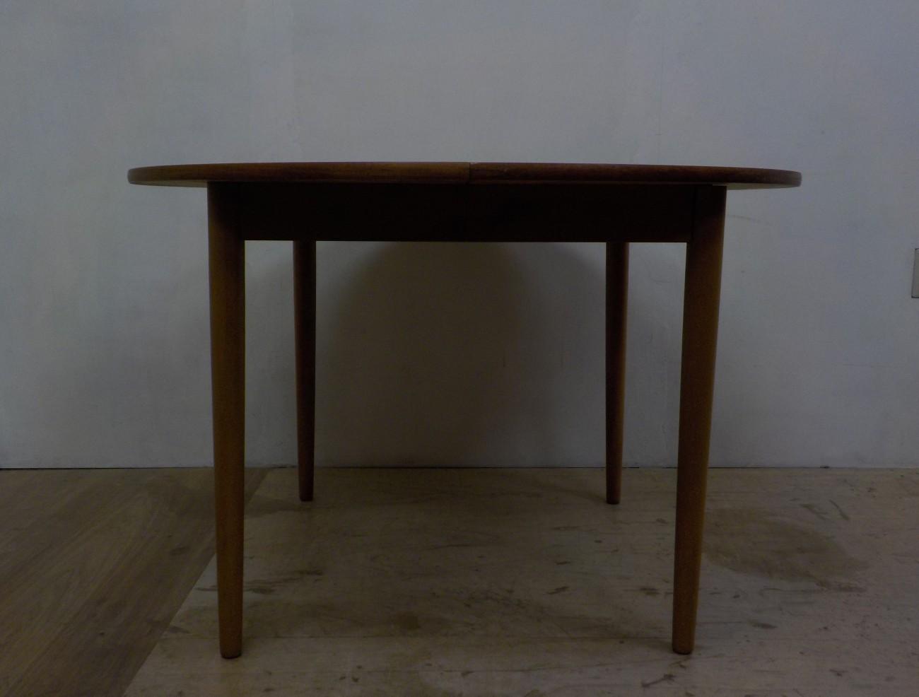FARSTRUP Dinning table / チークxビーチ エクステンション ダイニングテーブル / stock2012-10