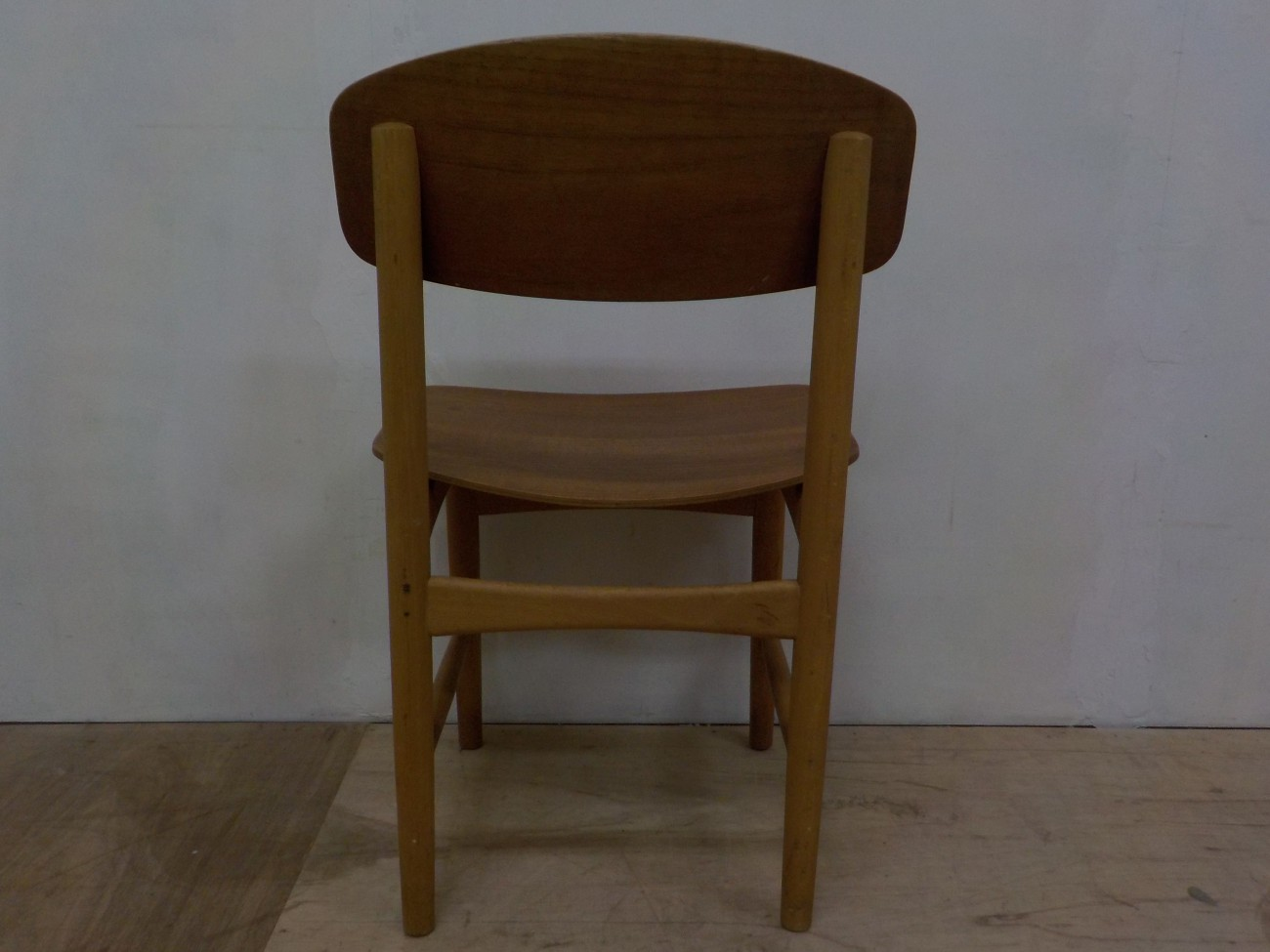 DSCN1Borge Mogensen model122 Dining Chair / チークxビーチ ボーエ・モーエンセン ダイニングチェア / stock2012-33-(2)039