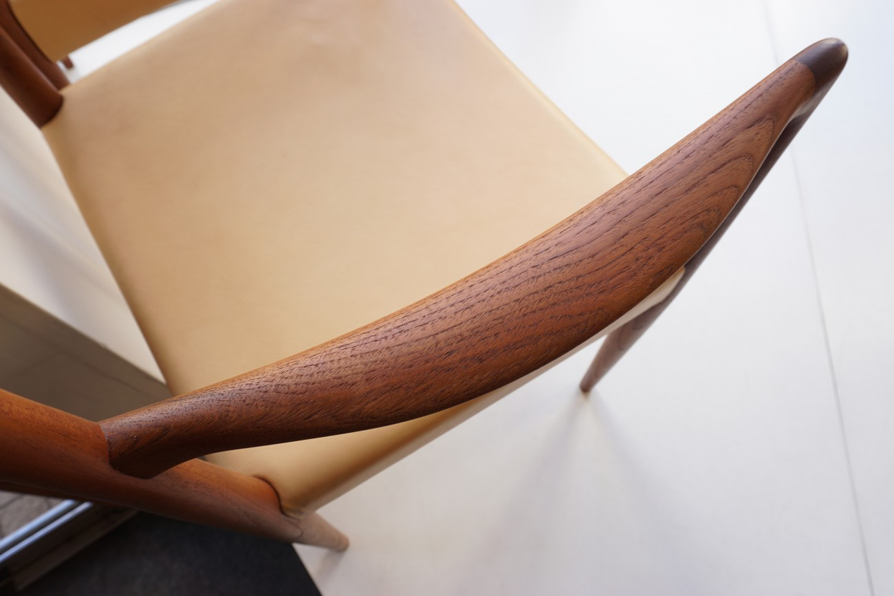 Rastad&Relling Bambi arm chair Normay aniline leather / ラスタ&レリング アームチェア アニリンレザー(本革) ノルウェー 2脚