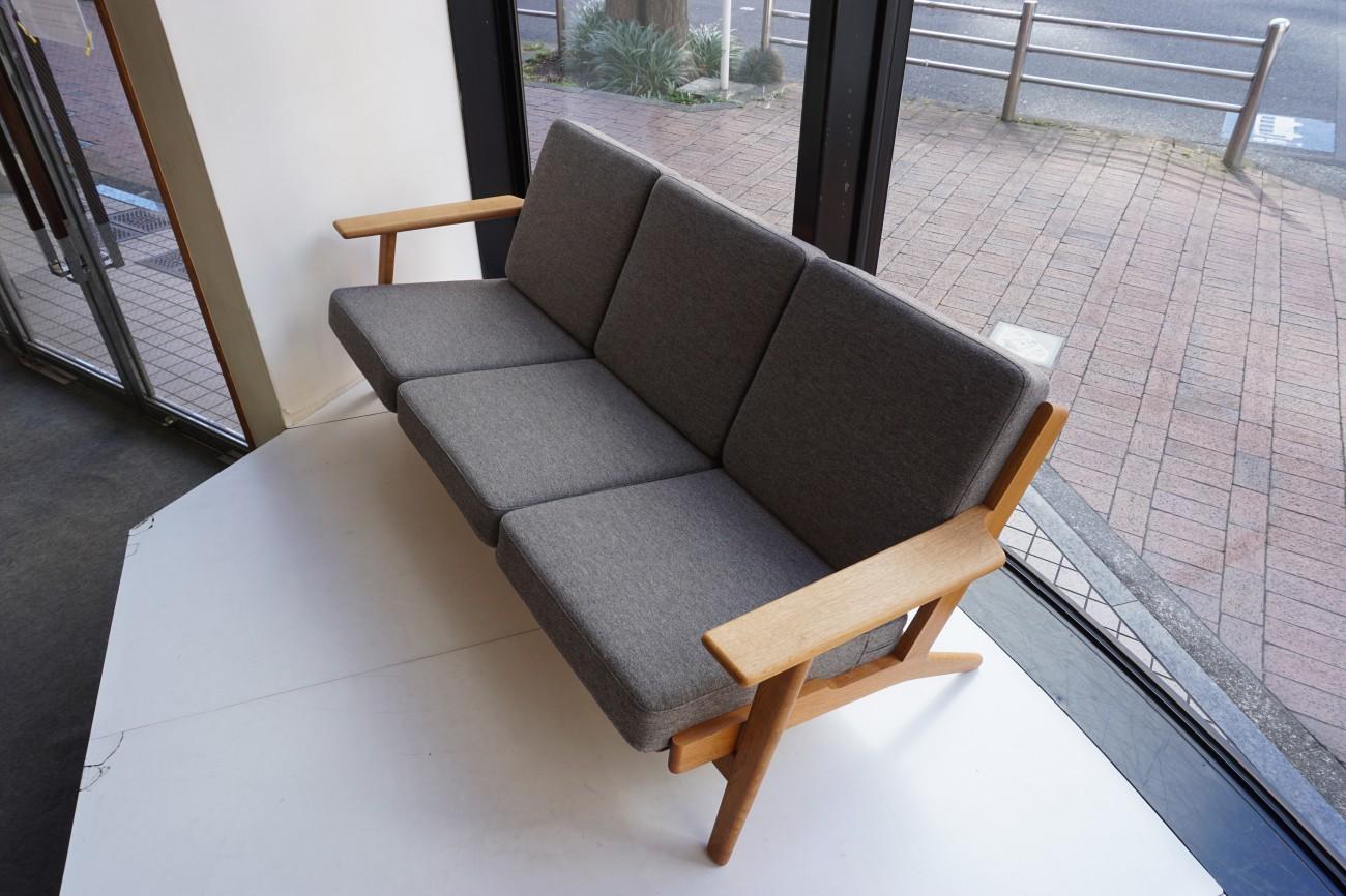 Hans J.Wegner GE2903 sofa Oak GETAMA / ハンス・ウェグナーデザイン ゲタマ社製 ビンテージ ソファ オーク材