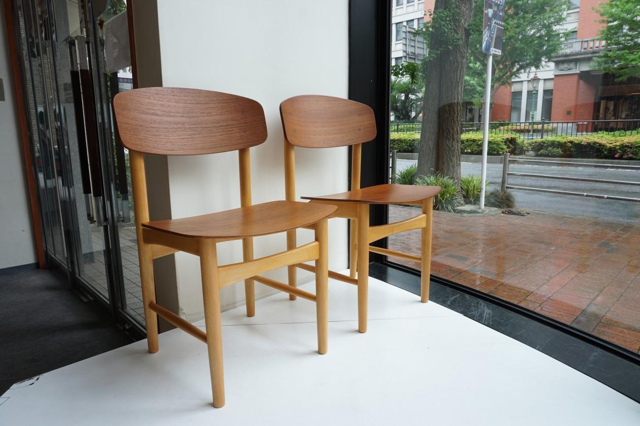 Borge Mogensen model122 Chair(Teak×Beech)Soborg Mobler / ボーエ・モーエンセン モデル122 チェア (チーク×ビーチ)を展示致しました。